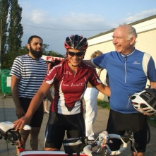 Cycle fundraiser