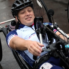 Hand cycling