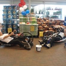 NSIC at Tesco raising awareness