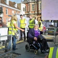Open ceremony at Aylesbury town square-2012