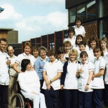 Physhiotherapy team-may 88