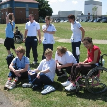 Paralympic roadshow