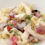 image of Chicken tagliatelle