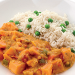 image of Sweet potato and lentil curry